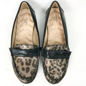 Cushion Walk By Avon Flats Leopard Print Loafer